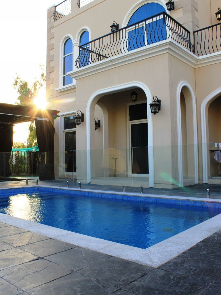 Glass Pool Fencing Motor City Dubai 004