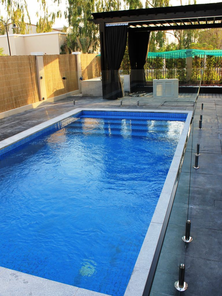 Glass Pool Fencing Motor City Dubai 009