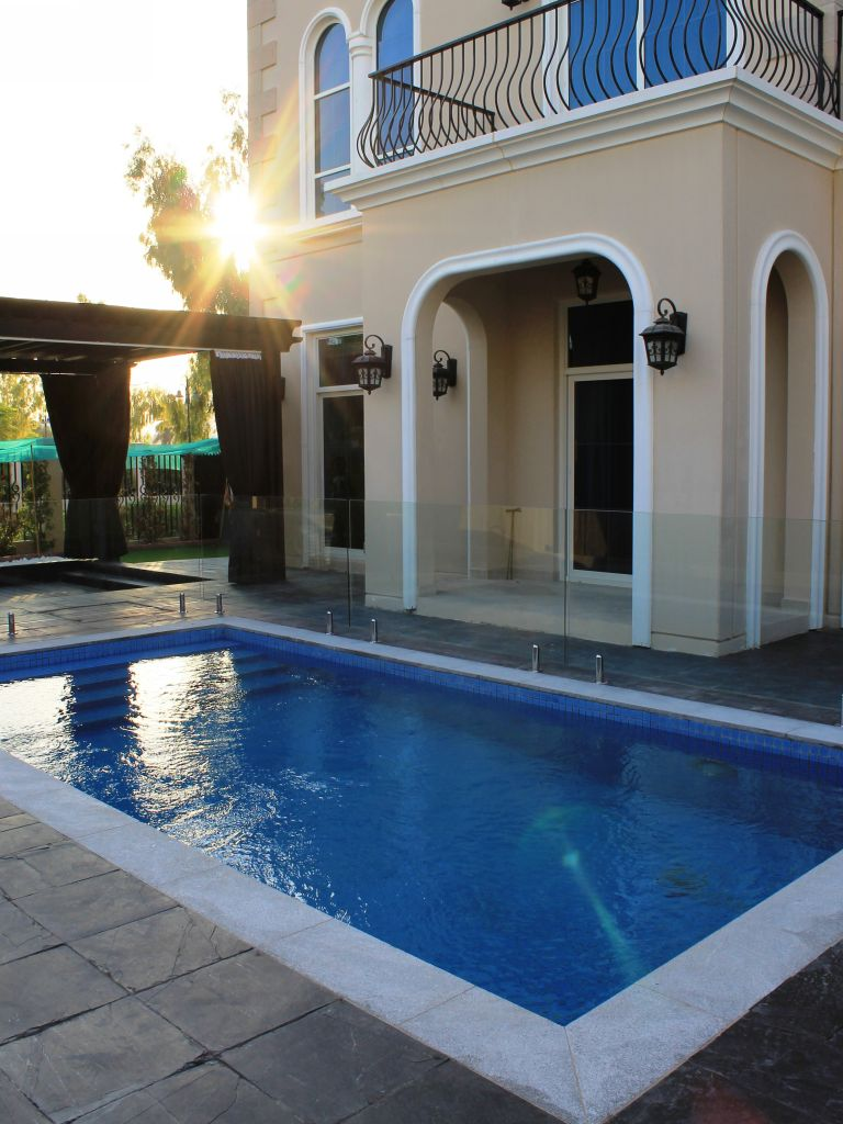 Glass Pool Fencing Motor City Dubai 015