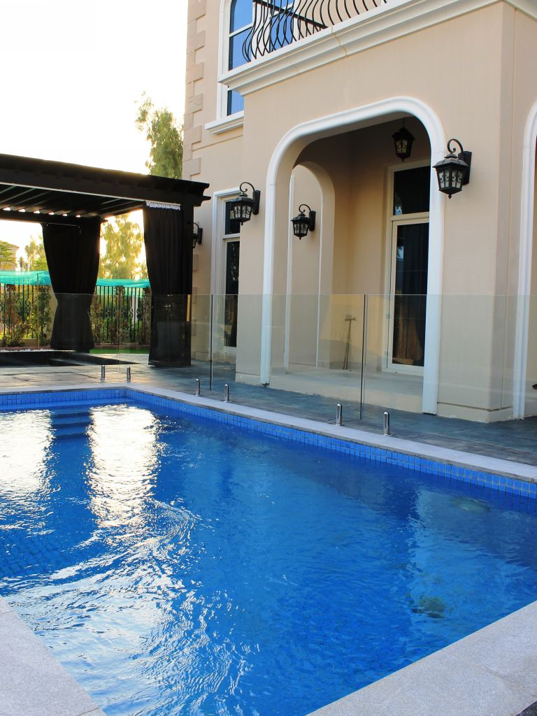 Glass Pool Fencing Motor City Dubai 016