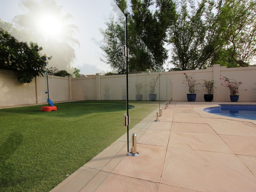 Glass Pool Fencing Victory Heights Dubai 003