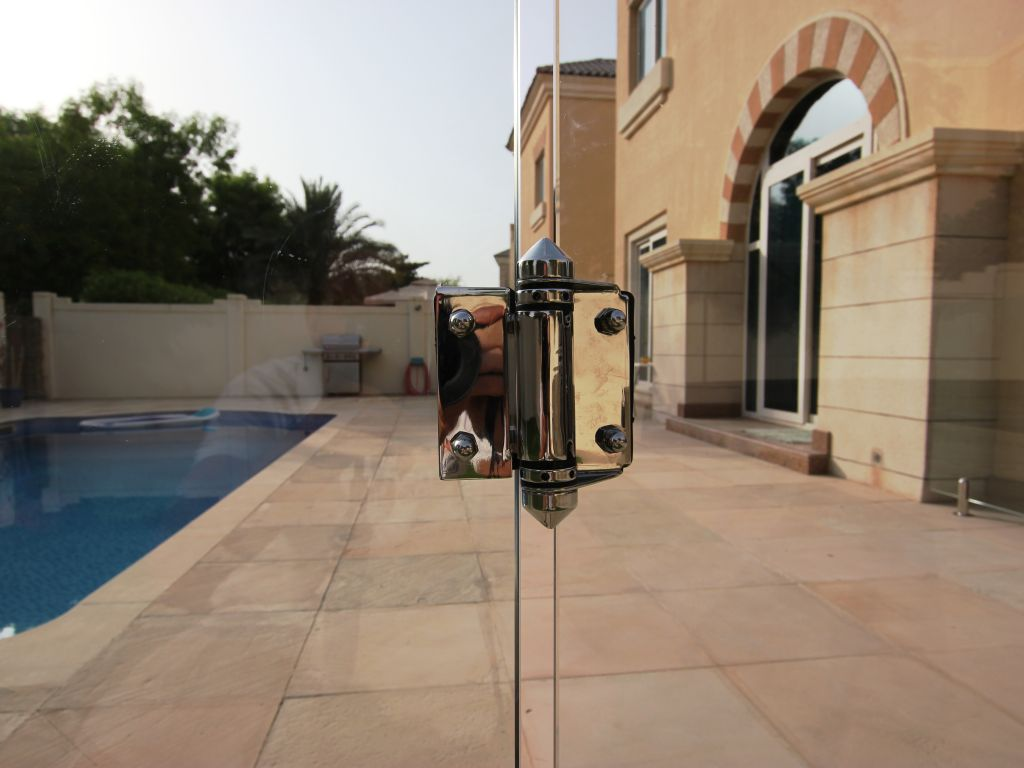 Glass Pool Fencing Victory Heights Dubai 005