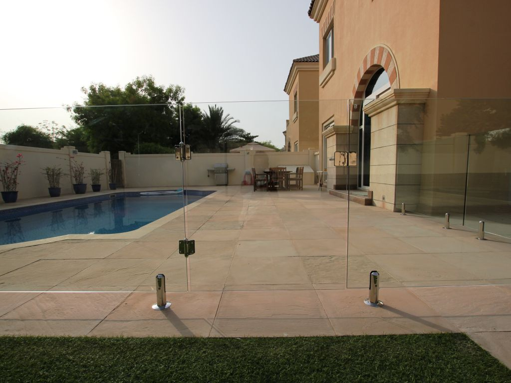 Glass Pool Fencing Victory Heights Dubai 006