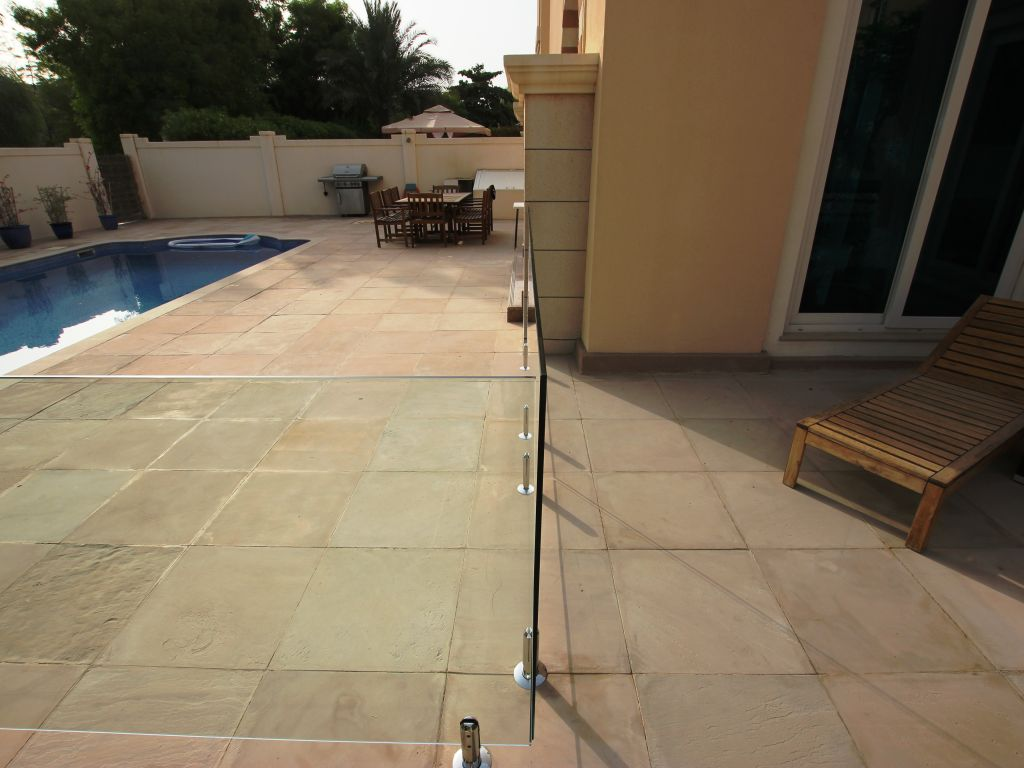 Glass Pool Fencing Victory Heights Dubai 008