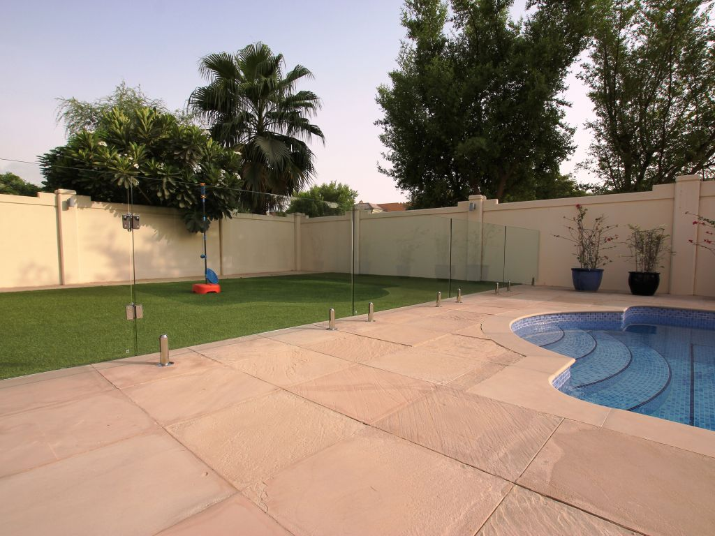 Glass Pool Fencing Victory Heights Dubai 012
