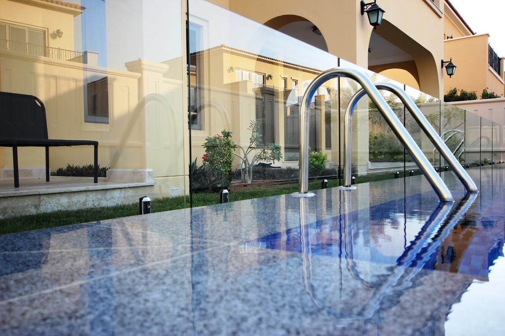 Glass Pool Fencing Sadiyat Island Abu Dhabi00007