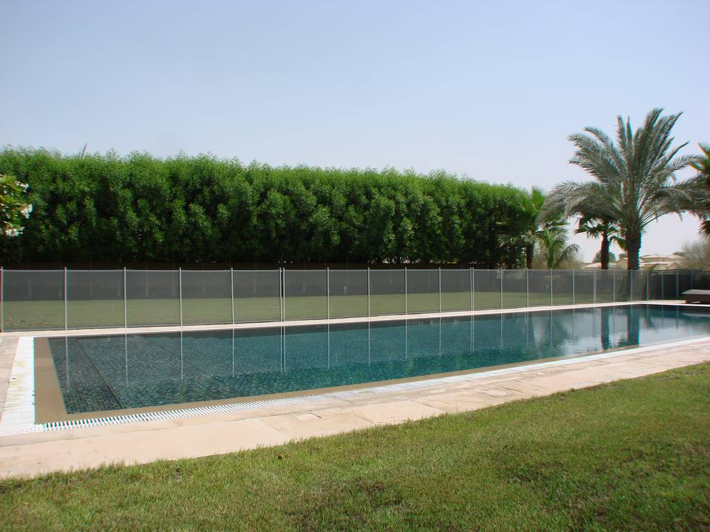 Removable Pool Safety Fencing Babysecure Ae