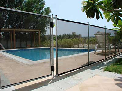 Removable Pool Fences - babysecure.ae