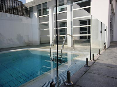 Frameless Glass Pool Fencing Solution