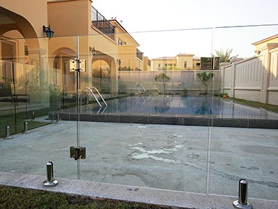 Glass Pool Fencing Gate